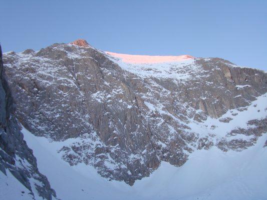 Berg Wichren in Pirin Gebirge
