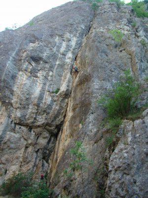 Die Schlucht von Fluss Erma