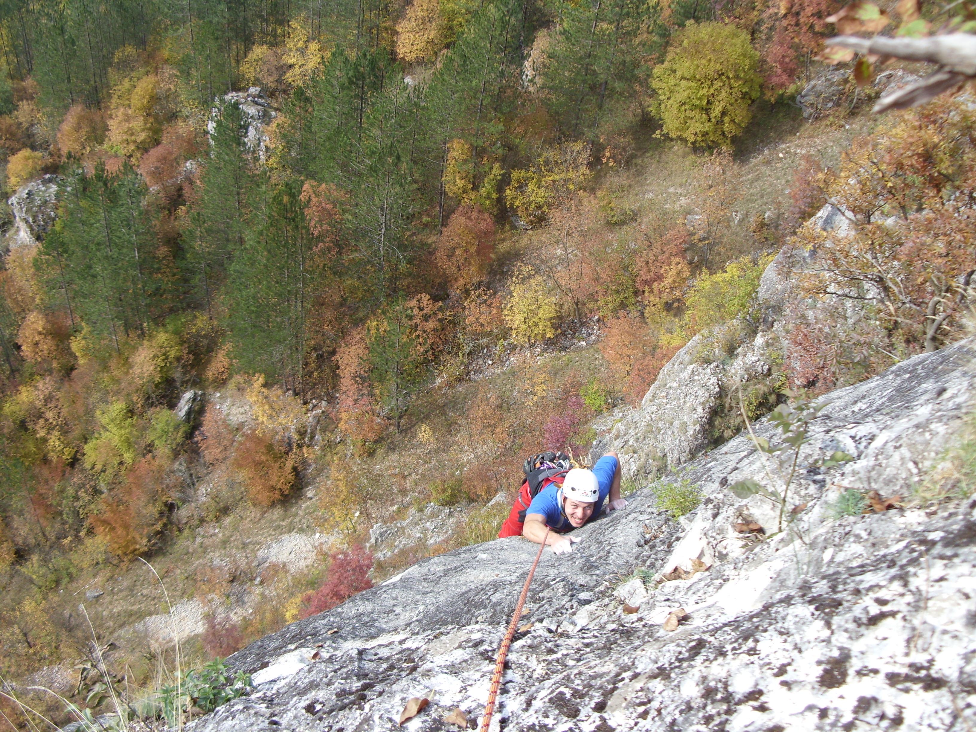Erma river gorge