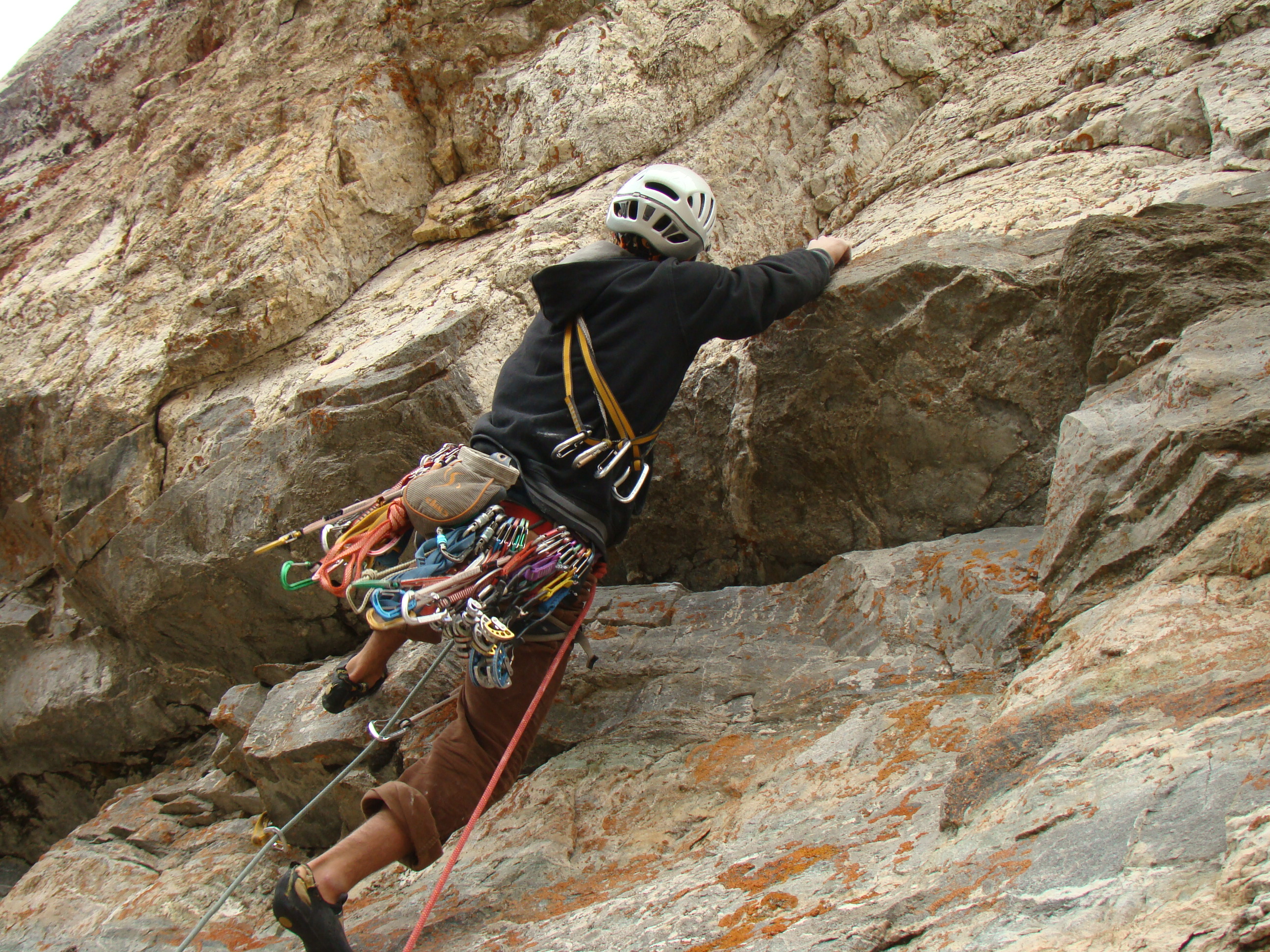 Climbing for experienced climbers
