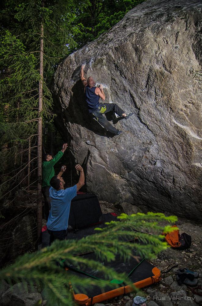 Bouldering in Bulgarien