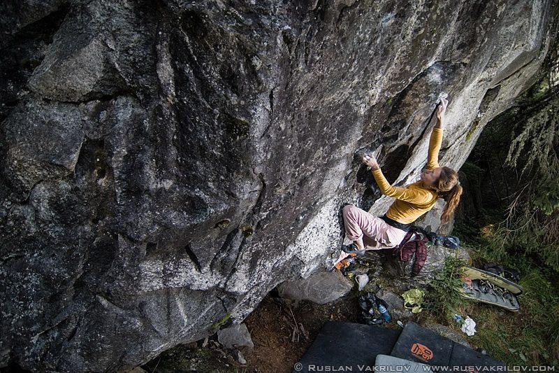Bouldering in Bulgaria