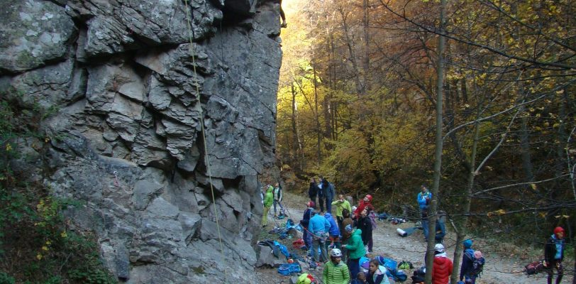 Kostenets, new climbing crag
