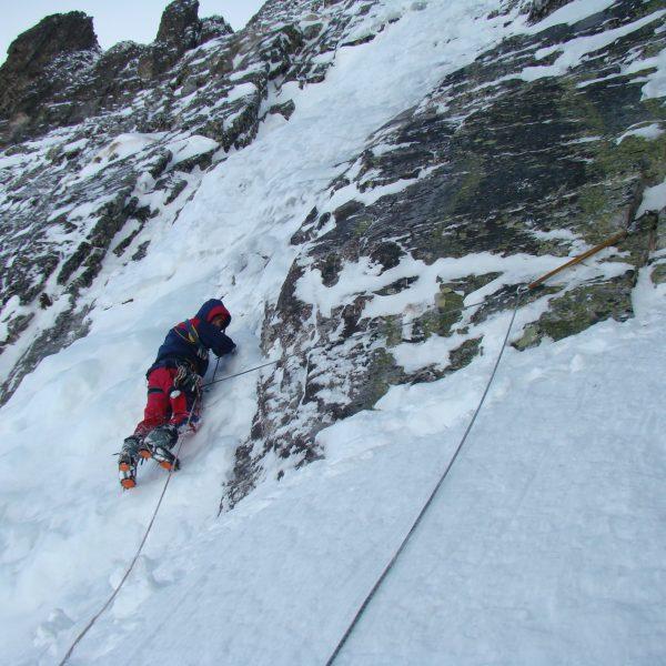 Ледено катерене на връх Камилата