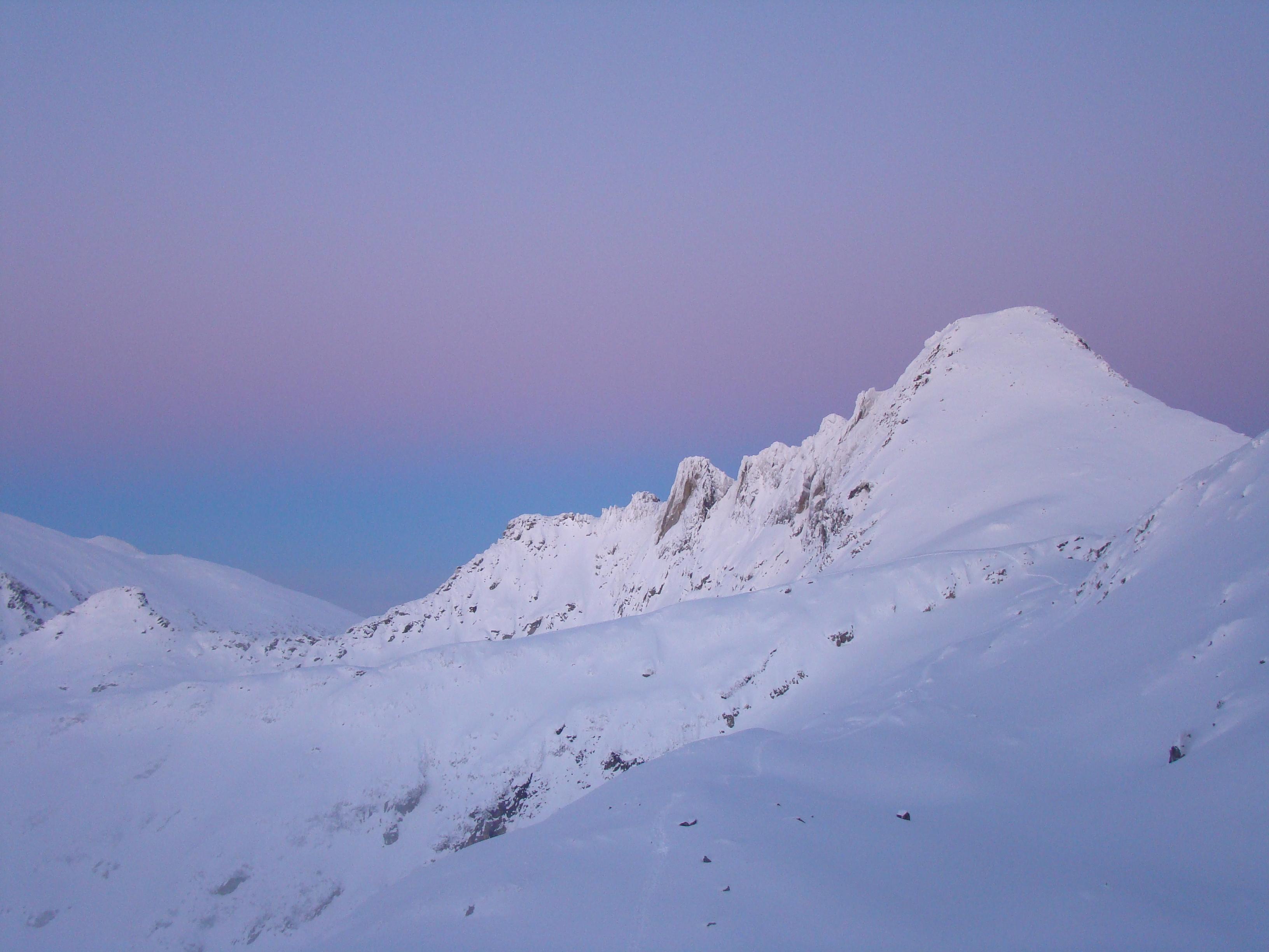 Mt. Dzhengal and its ridges