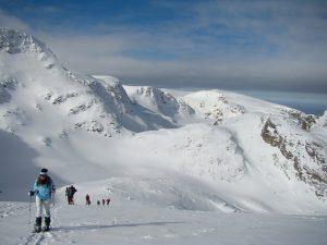 Seven rila lakes snowshoeing