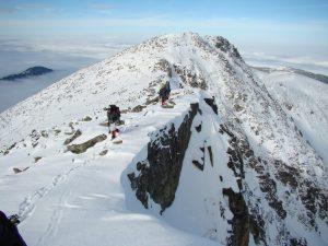 Ascending Mt. Musala