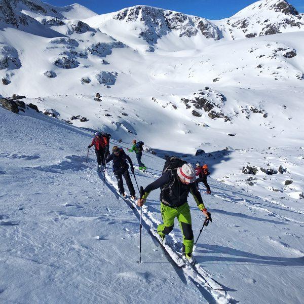 Ски туринг в района на седемте рилски езера