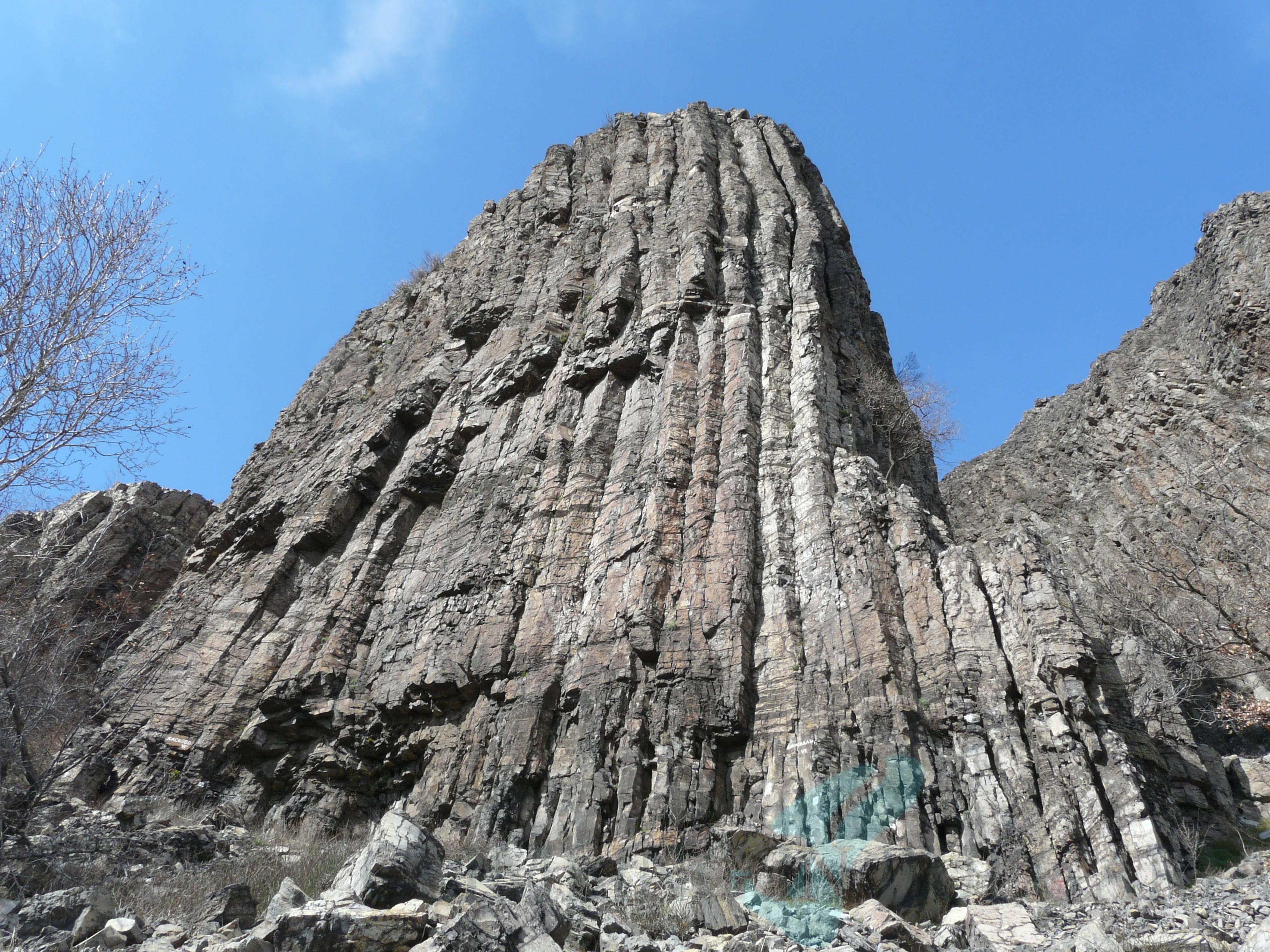 Volcanic rock of Momina skala